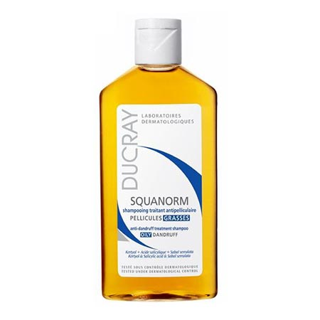 Ducray Squanorm Anti-dandruff Treatment Shampoo -Λιπαρή πιτυρίδα- 200ml