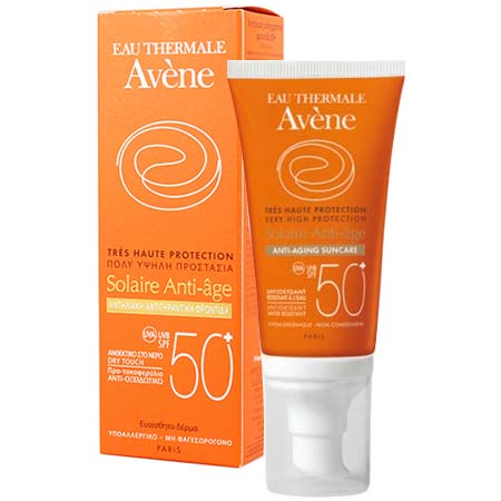 Avene Sun Solaire Anti Age Dry Touch SPF50+ 50ml