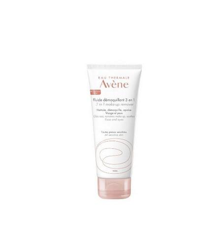 Avene Make Up Remover 3 in 1 - Απαλό Γαλάκτωμα Καθαρισμού & Ντεμακιγιάζ 100ml