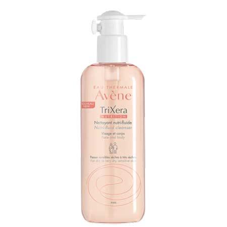 Avene Trixera Nutrition Nettoyant Nutri-Fluide - Καθαριστικό για Πρόσωπο & Σώμα 400ml