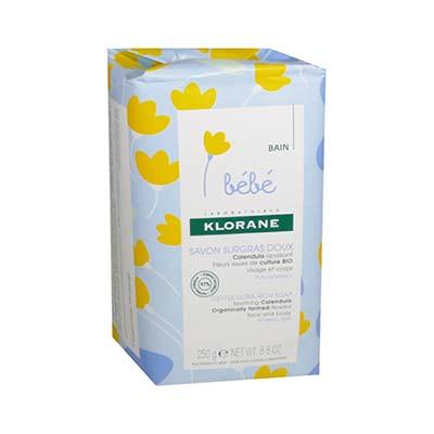 Klorane Bebe Savon Surgras Tres Doux Πολύ Απαλό Θρεπτικό Σαπούνι 250gr