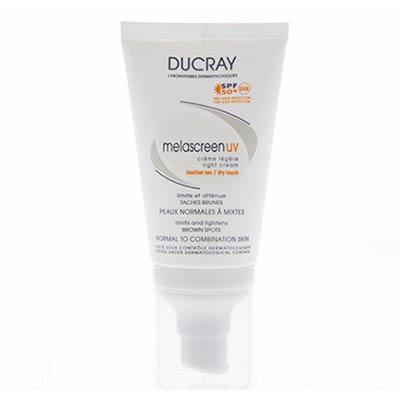 Ducray Melascreen UV Crème Legere SPF50+ Κανονικό/Μικτό δέρμα 40ml
