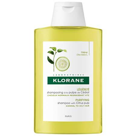 Klorane Σαμπουάν Με Πολτό Κίτρου για Κανονικά Μαλλιά με τάση λιπαρότητας 400ml