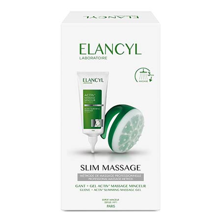 Elancyl SLIM MASSAGE Activ Massage Minceur Slimming Shower Gel 200ml + Γάντι