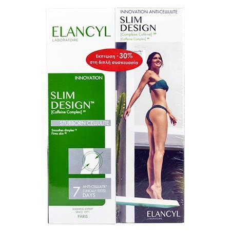 Elancyl Slim Design Caffeine Complex 3D -30% Στη Διπλή Συσκευασία 2x200ml