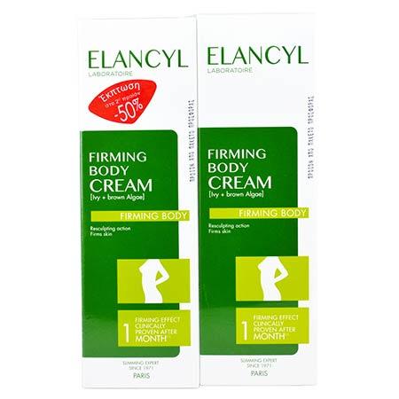 Elancyl  Crème Fermete Corps 2 x 200ml -50% στο 2ο προϊόν