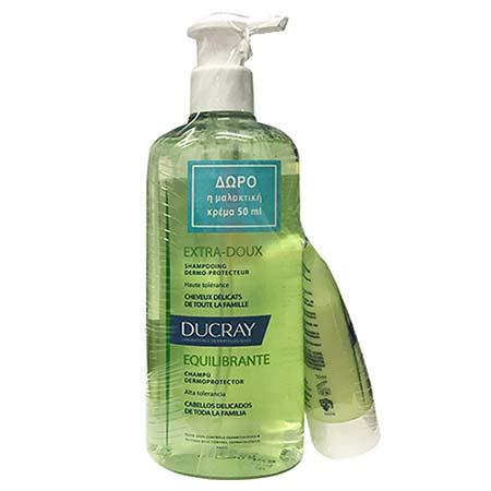 Ducray PROMO extra-doux shampoo 400ml + ΔΩΡΟ Conditioner 50ml