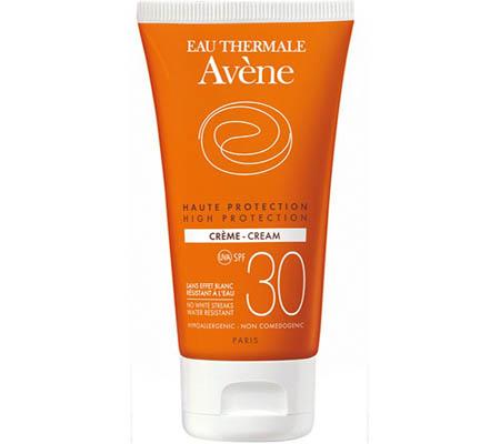 Avene Sun Cream Αντιηλιακή κρέμα προσώπου 30spf 50ml