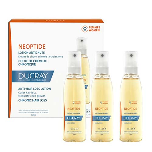 Ducray Neoptide Hair Loss Lotion Women, 3 x 30ml