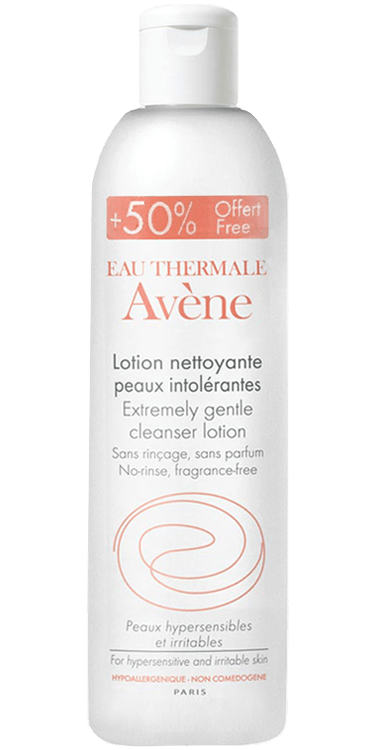 Avene Intolerant Skin Extremely Gentle Cleanser Lotion 300ml