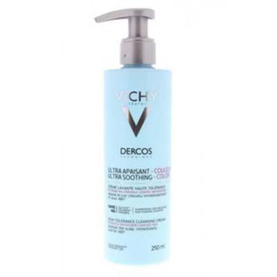Vichy Dercos Ultra Soothing Color Κρέμα Καθαρισμού Μαλλιών Υψηλής Ανοχής Ιδανική για Βαμμένα Μαλλιά 250ml