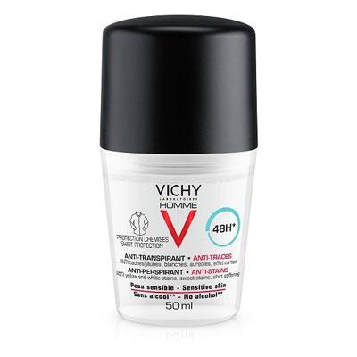 Vichy Homme Anti-Perspirant 48h Sensitive Skin Roll-On 50ml