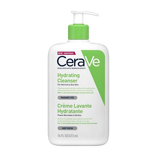 CeraVe Hydrating Cleanser Cream For Normal to Dry Skin 473ml