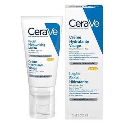 Cerave Facial Moisturizing Lotion SPF25 for Normal to Dry Skin 52ml