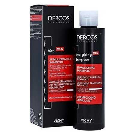 Vichy Dercos Aminexil Men Energising Δυναμωτικό Σαμπουάν για Αδύναμα Μαλλιά 200ml
