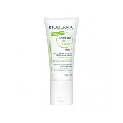 Bioderma Sebium Global Cover Με Χρώμα 30ml + 2g