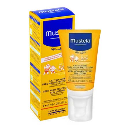 Mustela Very High Protection Sun Lotion Face 40ml