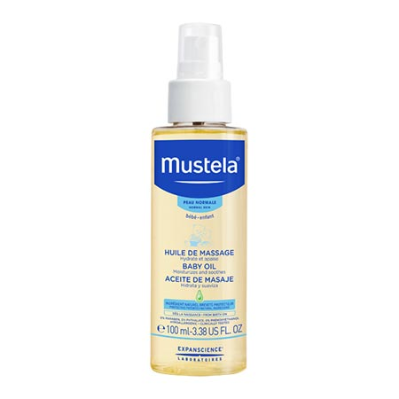 Mustela Baby Oil spray 100ml