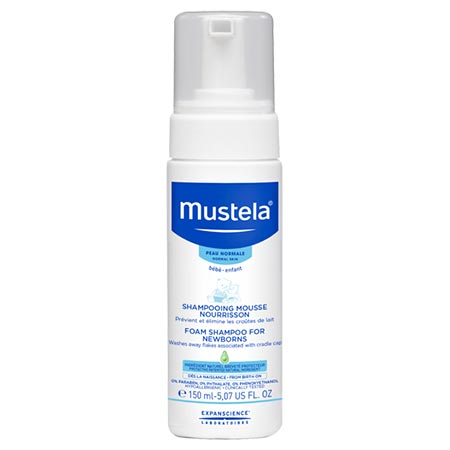 Mustela Foam Shampoo for Newborns 150ml