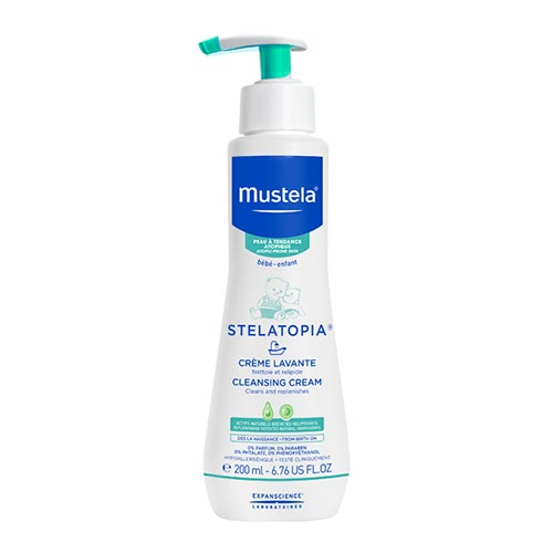 Mustela Stelatopia Cleansing Creme 200ml
