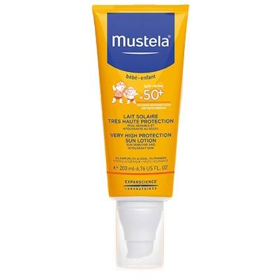 Mustela Sun Lotion SPF50+ Very High Protection 200ml