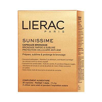 Lierac Sunissime Capsules Bronzage - 30 Κάψουλες Μαυρίσματος