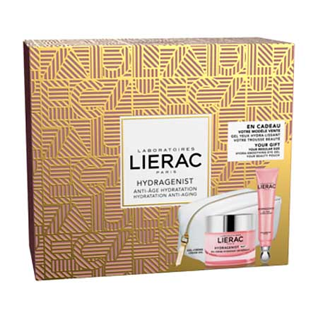 PROMO LIERAC SET Hydragenist Gel-Cream Mat 50ml & Δώρο Hydragenist Gel Yeux Hydra Lissant 15ml