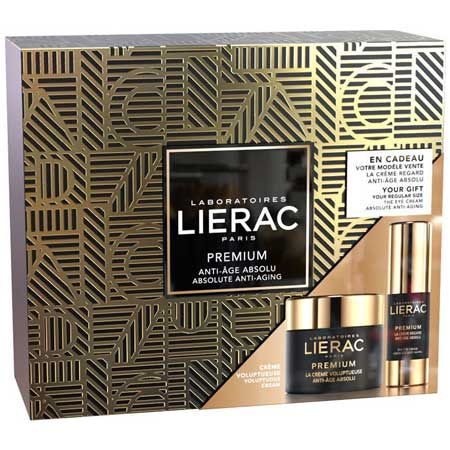 PROMO LIERAC SET Με Premium Voluptueuse Cream 50ml & Δώρο Premium Eye Cream 15ml