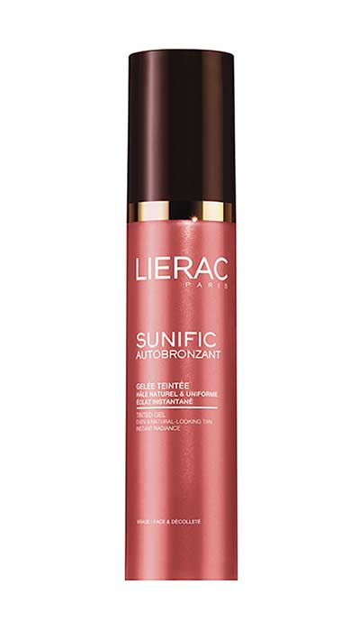 Lierac Sunific Self-Tan Tinted Gel για το πρόσωπο, 40ml