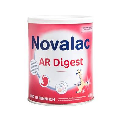 Novalac AR Digest Βρεφικό Σκεύασμα Κατά των Σοβαρών Αναγωγών 400g