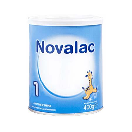 Novalac 1 Γάλα 1ης βρεφικής ηλικίας 0-6m 400g
