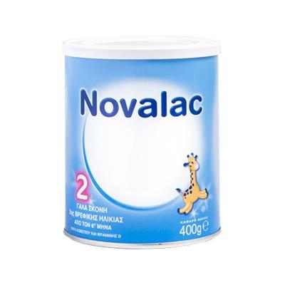 Novalac 2 Γάλα 2ης βρεφικής ηλικίας από τον 6ο μήνα 400g