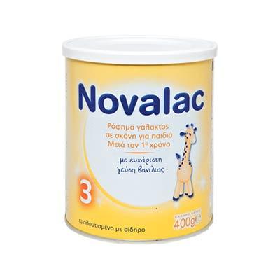 Novalac 3 Ρόφημα Γάλακτος Σε Σκόνη Για Παιδιά Μετά τον 1o Χρόνο 400g