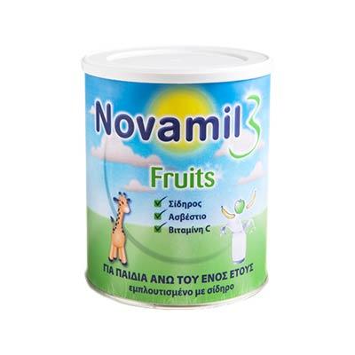 Novamil 3 Fruits Από 12 Μηνών 800g