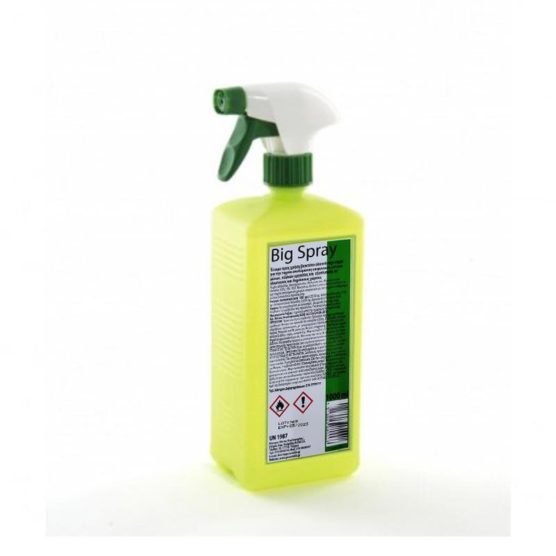 Βιοκτόνο αλκοολούχο απολυμαντικό σπρέι μικρών επιφανειών Big Spray 1000ml