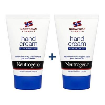 Neutrogena 1+1 Hand Cream Κρέμα Χεριών με Άρωμα 75+75ml
