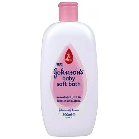 Johnsons Baby Soft Bath 500ml