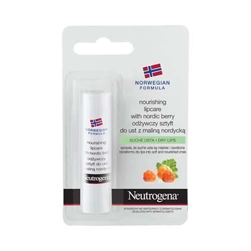 Neutrogena Stick Χειλιών Θρέψης με Nordic Berry, 4.9gr