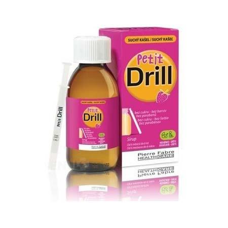 Pierre Fabre Petit Drill σιρόπι για ξηρό βήχα από 6 μηνών 125ml