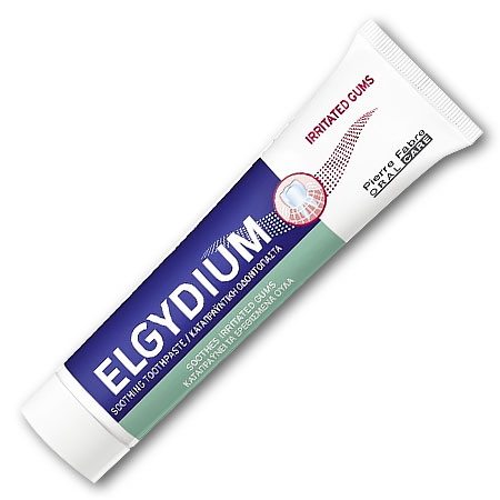Elgydium Irritated Gums 75ml  Καταπραϋντική Οδοντόκρεμα για Ερεθισμένα Ούλα