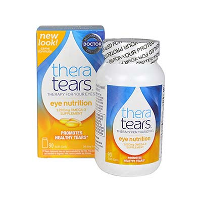 Thera Tears Eye Nutrition Omega-3 1200mg 90 μαλακές κάψουλες