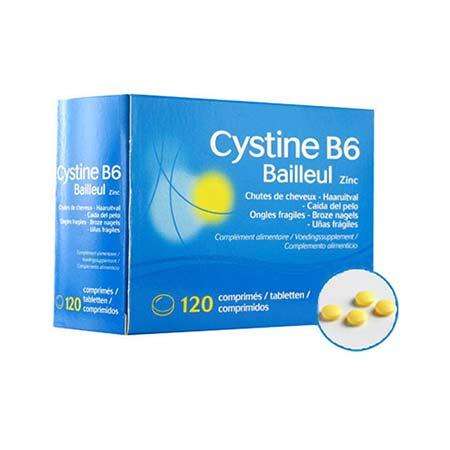 Biorga Cystiphane Cystine B6 Zinc 120tabs