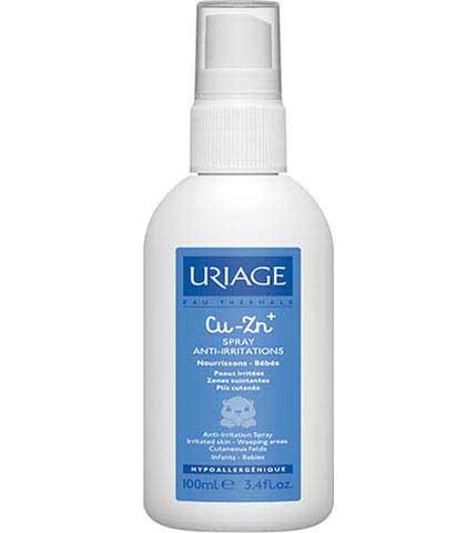 Uriage CU-ZN+Bebe Spray κατά των Ερεθισμών του Βρεφικού Δέρματος 100ml