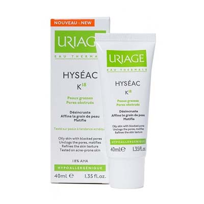 Uriage Hyseac K18 Unclogging Skin Care 40ml