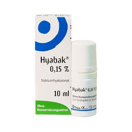 Hyabak 0.15% 10ml Thea