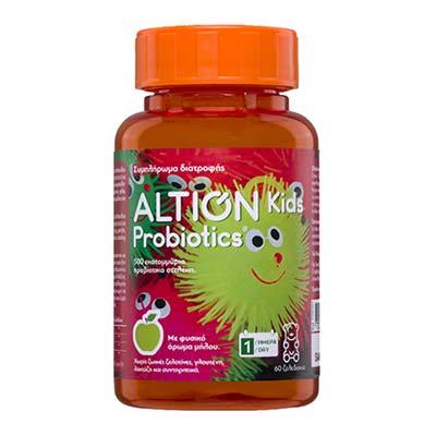 Altion Kids Probiotics 60 μασώμενα ζελεδάκια