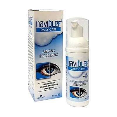 Naviblef Daily Care Αφρός Βλεφάρων 50ml
