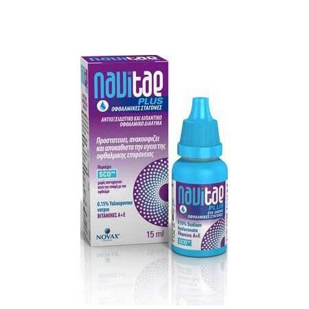 Novax Navitae Plus Οφθαλμικές Σταγόνες 15ml