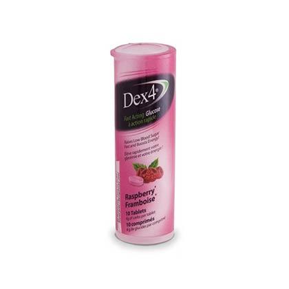 Vitility Dex 4 Raspberry, 10tabs 40gr