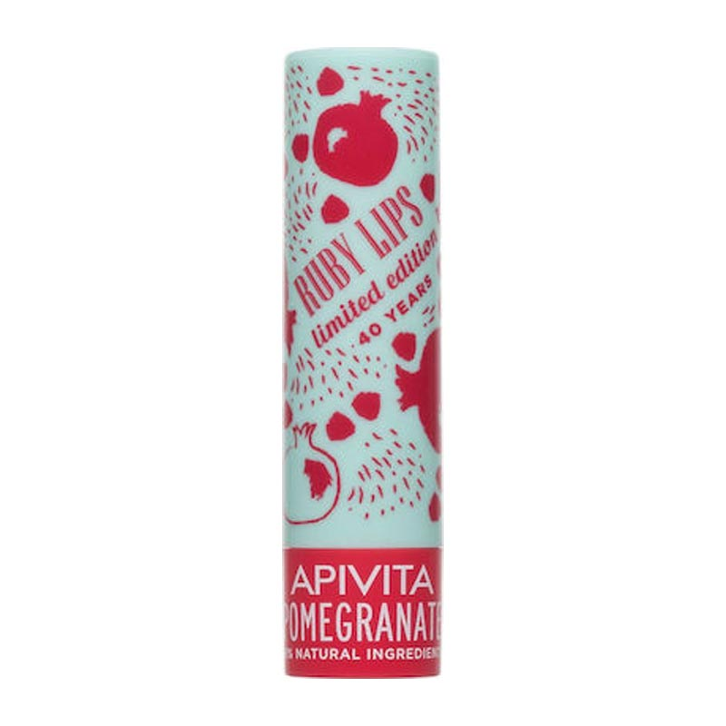 Apivita Lip Care Pomegranate Tinted - Balm Χειλιών με Ρόδι, 4.4 gr (Limited Edition)